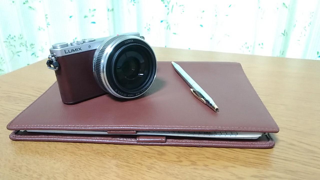 趣味のカメラを準備